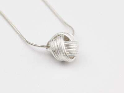 Pendant Knot Silver
